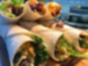 Moroccan Chicken Wrap 🍗 🥗