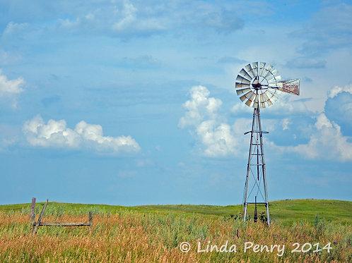 Windmill Notecard
