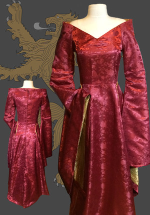 GOT Cersi Lannister Gown