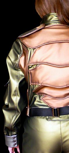 Flightsuit Back Detail