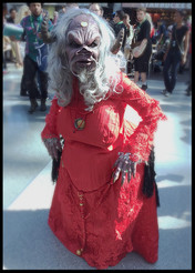 Aughra from The Dark Crystal