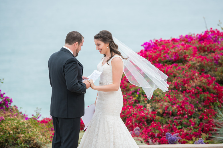 Private and Intimate Vows at a Casa Romantica Wedding in San Clemente, California by Jen Marie Photography