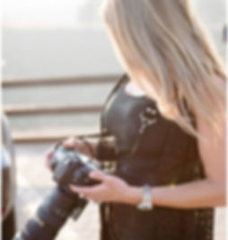 Jen Marie Photographing a Weddin
