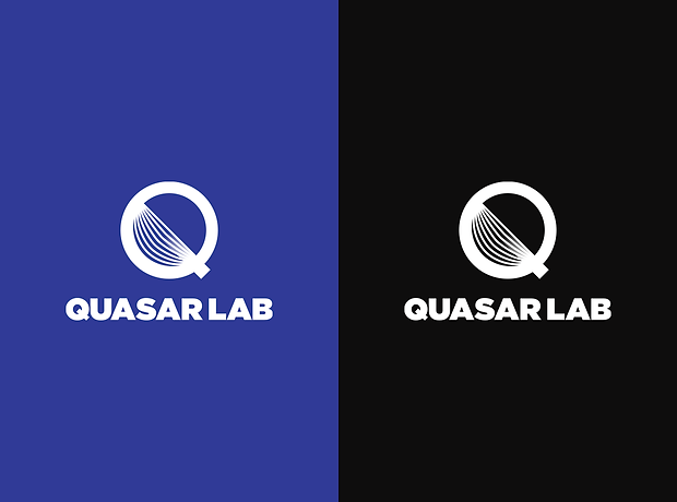 Quasar Lab logo small version - minhdesigns - graphic design by Minh