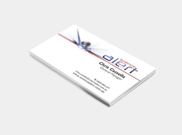 Science Alert logo - minhdesigns - graphic design by Minh