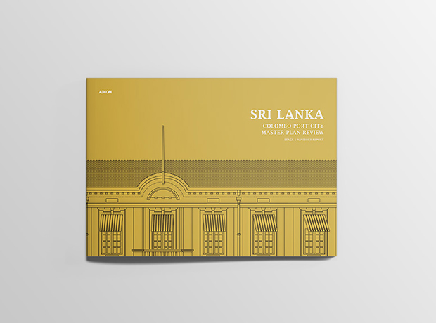 Colombo Port City cover - minhdesigns - graphic design by Minh