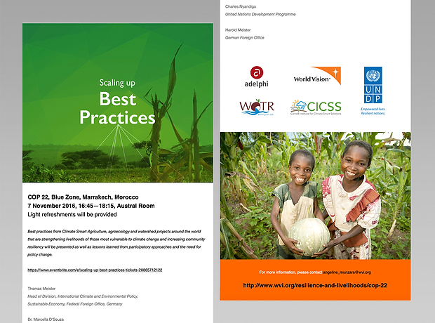 World Vision email flyer - minhdesigns - graphic design by Minh