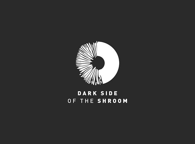 Dark Side of the Shroom - Urban mushroom farm - minhdesigns - graphic design by Minh - Logo design