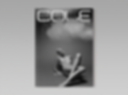 Cole Magazine - minhdesigns - graphic design by Minh - Issue 5 - the Nudes Issue - back cover