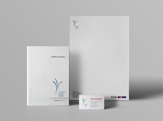 Centre for Social Impact collateral - minhdesigns - graphic design by Minh