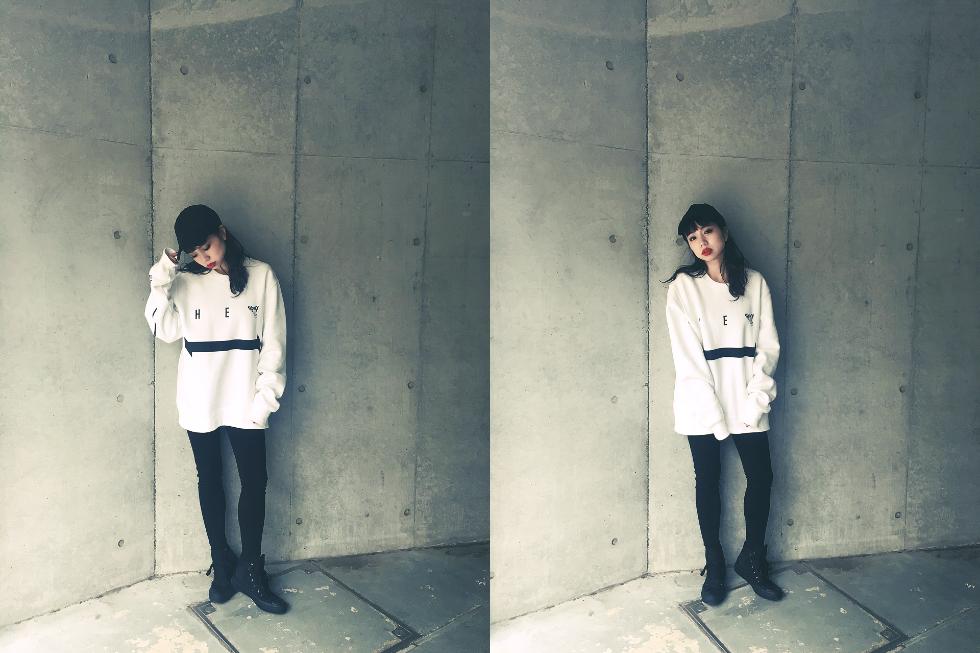Midu Hoch streetwear clothing - Ayaka Murohara - Heaven sweater