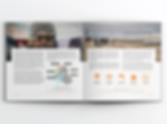 Norwegian Refugee Council report layout - minhdesigns - graphic design by Minh