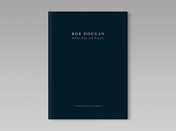Rob Dougan - Australian composer - minhdesigns - graphic design by Minh - Films: Past and Future - Booklet design