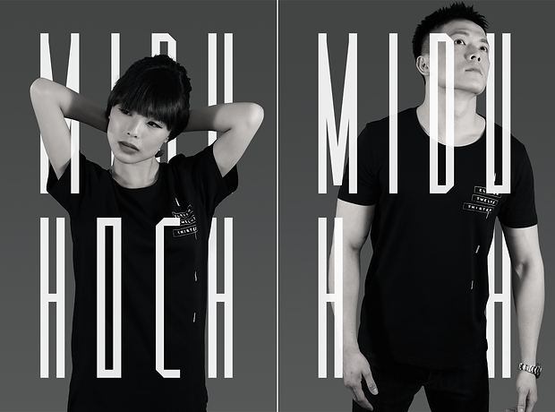 Midu Hoch lookbook - minhdesigns - graphic design by Minh