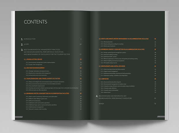 European Commission Sectoral Reference Document - minhdesigns - graphic design by Minh Duong