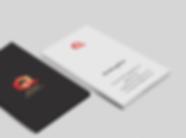 Quasar Management business cards - minhdesigns - graphic design by Minh