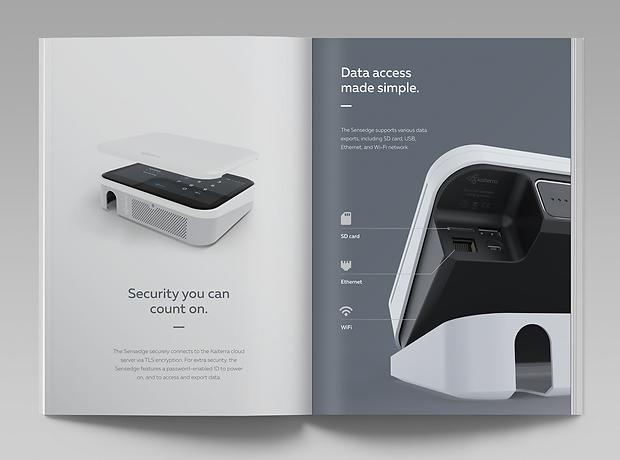 Kaiterra - Beijing China - minhdesigns - graphic design by Minh - Sensedge - Product Brochure