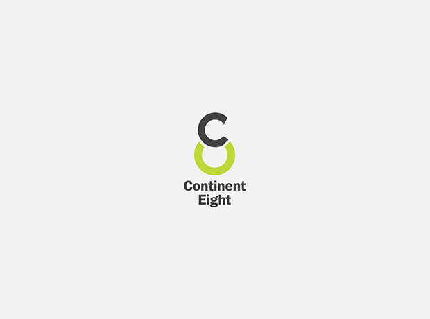 Continent Eight logo - minhdesigns - graphic design by Minh