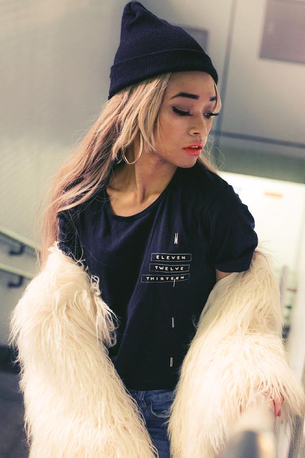 Midu Hoch streetwear clothing - Hana - Count t-shirt