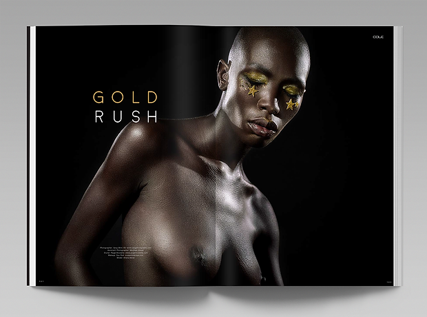 Cole Magazine - minhdesigns - graphic design by Minh