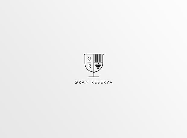 Gran Reserva logo - minhdesigns - graphic design by Minh