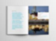 River Restoration brochure - minhdesigns - graphic design by Minh