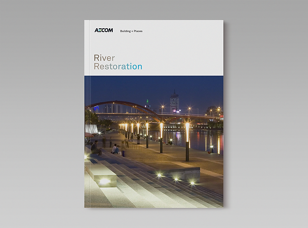 River Restoration brochure - minhdesigns - graphic design by Minh