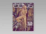 Cole Magazine - minhdesigns - graphic design by Minh - Issue 6 - Va Va Voom Issue - front cover