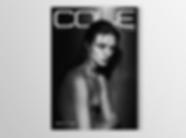 Cole Magazine - minhdesigns - graphic design by Minh - Issue 7 - the Nudes Issue - back cover