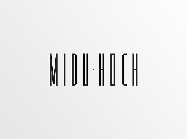 Midu Hoch logo - minhdesigns - graphic design by Minh