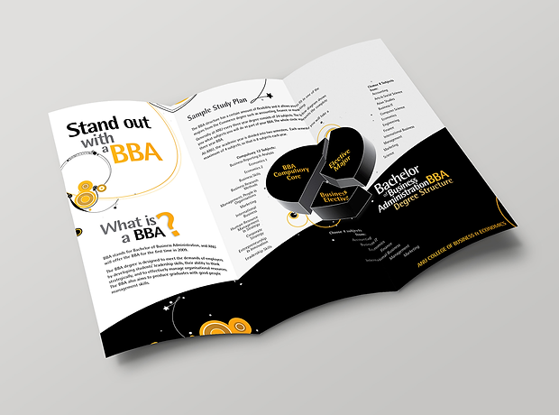 Australian National University marketing - minhdesigns - graphic design by Minh