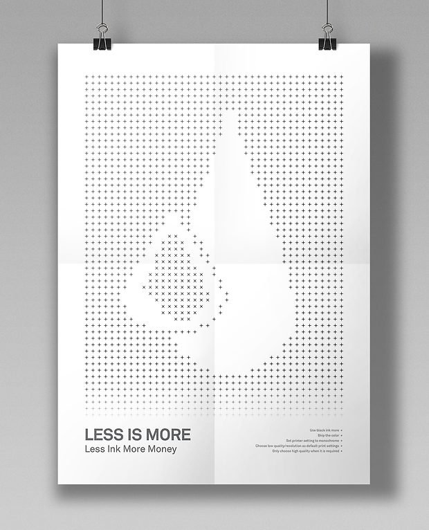 Less is More posters - minhdesigns - graphic design by Minh