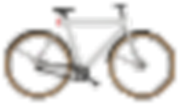 Vanmoof bicycle bike pixel artwork, layout and graphic design by Minh Duong at MinhDesigns