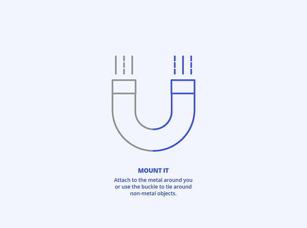 UCast - hands free magnet mount mobile phone device - minhdesigns - graphic design by Minh - Infographic and diagram design for Kickstarter