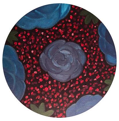 Blue Flowers - Nuria Tovar
