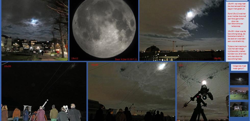 Kijkavond Maan en komeet 10/01/2020