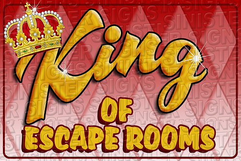 KING OF ESCAPE ROOMS