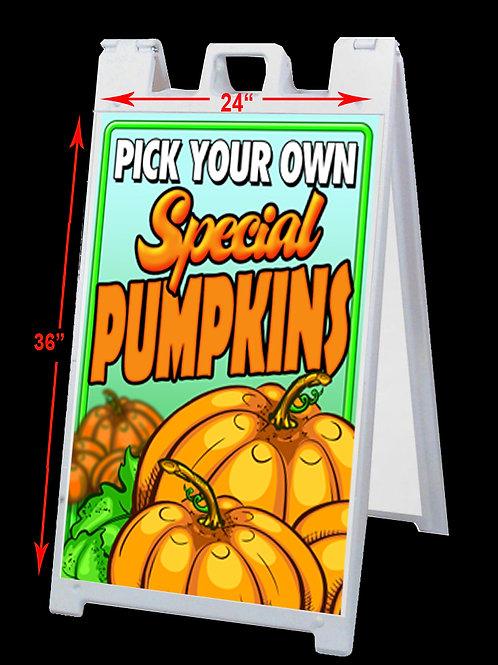 Pumpkin Patch A-Frame