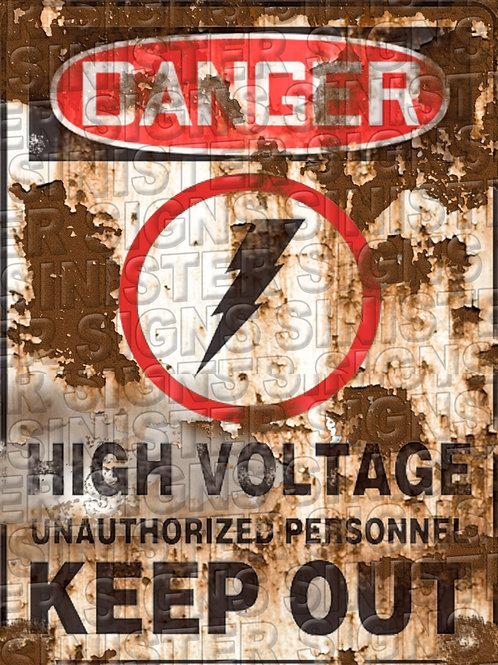 """HIGH VOLTAGE VERTICAL 12""""X16"""""""