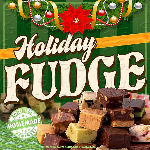 FUDGE sign 16x16