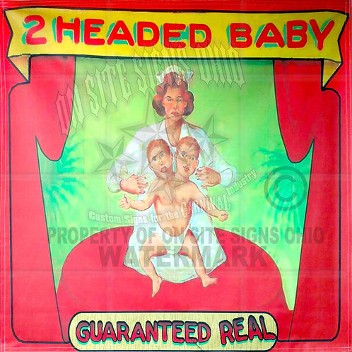 2 HEADED BABY