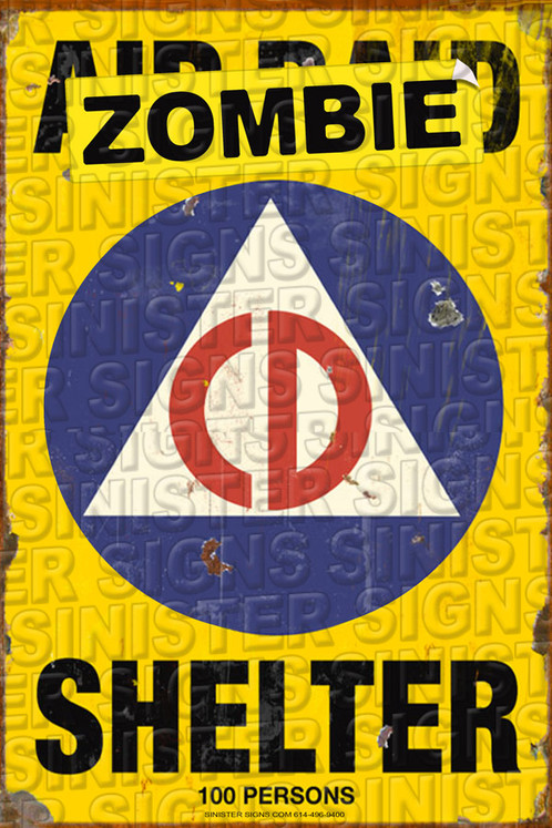 Zombie Fallout Shelter Cd12x18 Sinisterstore