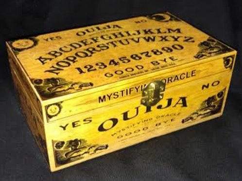 OUIJA BURLWOOD LARGE  KNICK NACK BOX