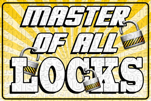 MASTER OF ALL LOCKS