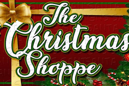 THE CHRISTMAS SHOPPE 24'X14'
