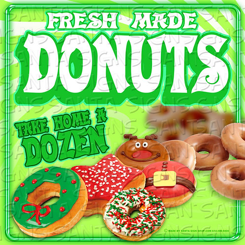 DONUTS sign 16x16