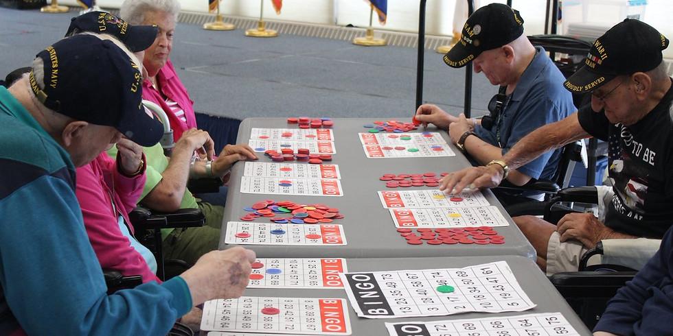 Visit Veterans, Play Bingo!