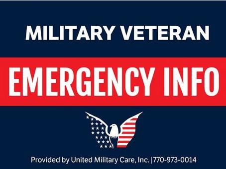 Veterans Emergency Medical Information Kit - FREE