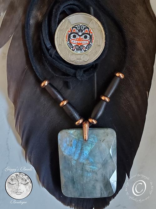 Labradorite  Sky Necklace