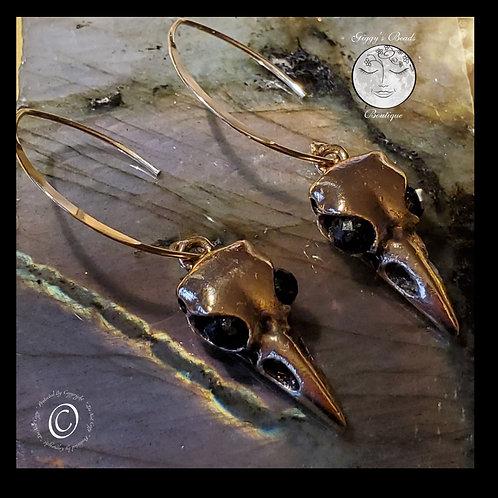Raven  Tourmaline Earrings